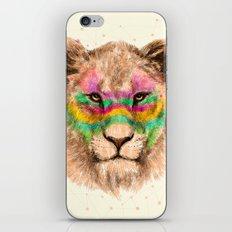 Lioness II iPhone & iPod Skin