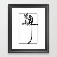 Mona Monkey Framed Art Print