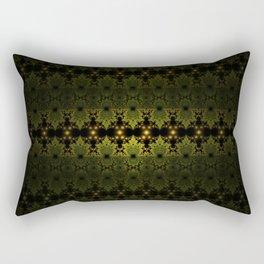 Fractal Martians Rectangular Pillow