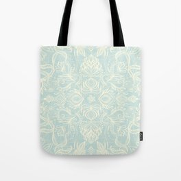 Pale Jade Tattoo - a pattern Tote Bag