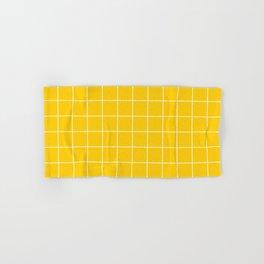 Sunshine Grid Hand & Bath Towel