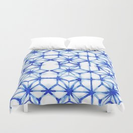 Abstract geometric star Duvet Cover