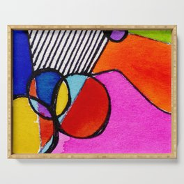 Magical Thinking 7A6 by Kathy Morton Stanion Serving Tray