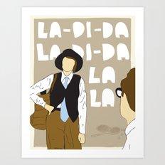 La-Di-Da - Annie Hall Art Print