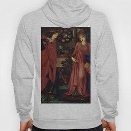 "Edward Burne-Jones ""Fair Rosamund and Queen Eleanor"" Hoody"