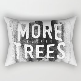 More trees Rectangular Pillow