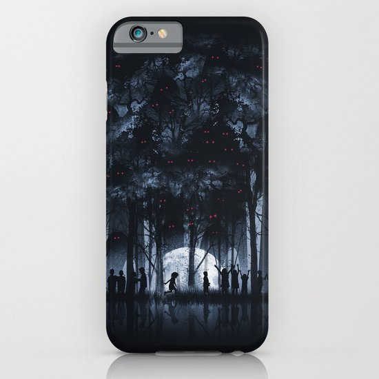 Creatures Rule the Night iPhone & iPod Case