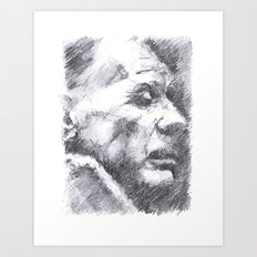 Borges Art Print