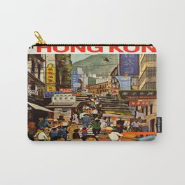Vintage poster - Hong Kong Carry-All Pouch