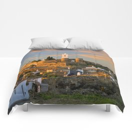 Monsaraz Portuguese medieval village, the Alentejo Comforters
