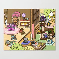 NekoWatch Canvas Print