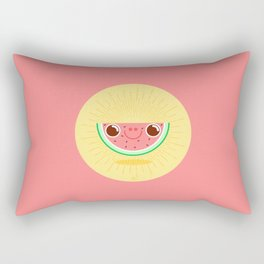 Watermelon with large nostrils Rectangular Pillow