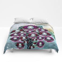 Beasts of Botanica - Velvet Queen Sunflowers Comforters