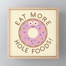 Do's and Donuts Framed Mini Art Print