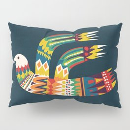 Native Bird Pillow Sham