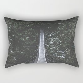 Lynn Canyon Suspension Bridge Rectangular Pillow