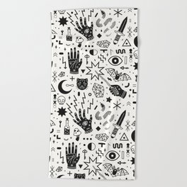 Witchcraft II Beach Towel