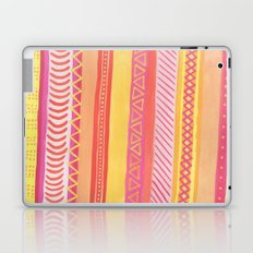 Tribal#1 (Orange/Pink/Yellow) Laptop & iPad Skin