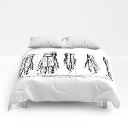 Lower Limbs of Ungulate Animals Comforters