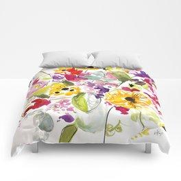Jim Dandy Farm Flowers Comforters