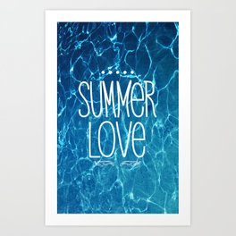 Summer Love Art Print