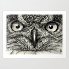 Eagle Owl 878 Art Print