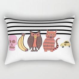 The Unusual Suspects Rectangular Pillow