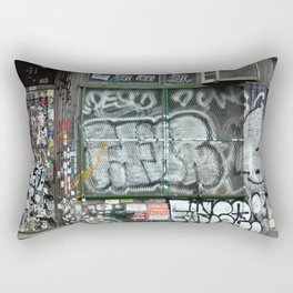 On Bleecker street, East Village | NYC Rectangular Pillow