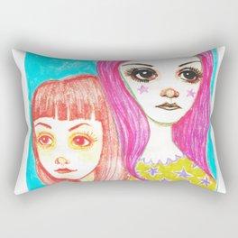 The Catch Up Girls Rectangular Pillow