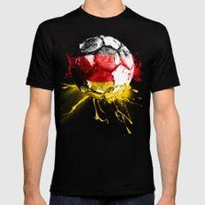 football germany MEDIUM Black Mens Fitted Tee