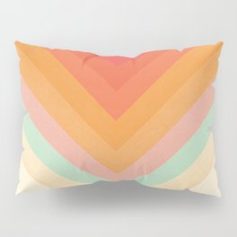 Rainbow Chevrons Pillow Sham