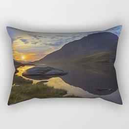 Tryfan Sunrise Rectangular Pillow