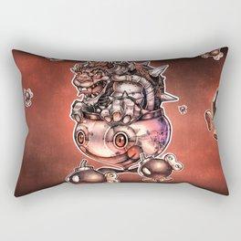 BOMBS AWAY BOWSER Rectangular Pillow
