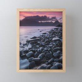 Sunset at Elgol II Framed Mini Art Print