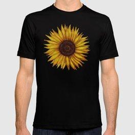 Sunflower by Lars Furtwaengler | Ink Pen | 2011 T-shirt