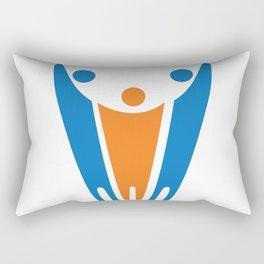 the Peace PEOPLE Rectangular Pillow