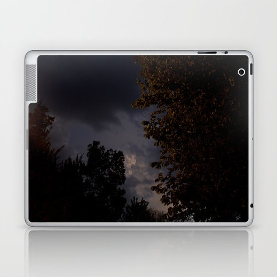 storm in the west. Laptop & iPad Skin