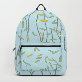 Pumpkins, Trees and Gentle Fall Breeze Backpack