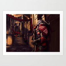 Dragon Age - A moment of Reflection Art Print