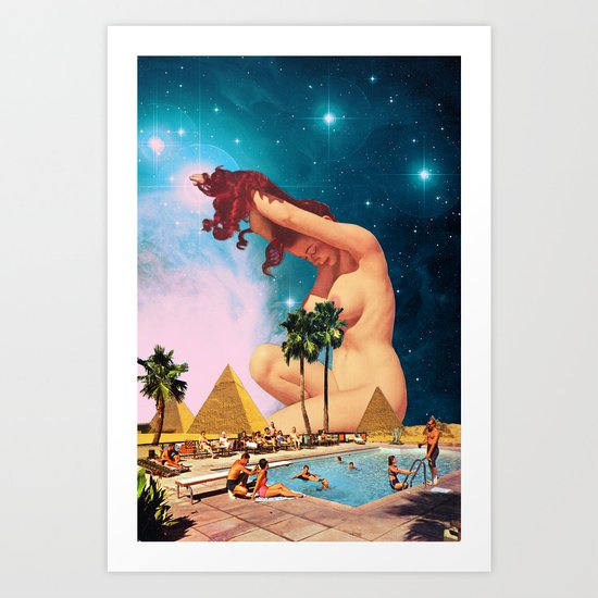 The Sphinx Art Print