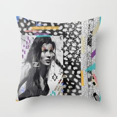 KATE MOSS TRIBE Throw Pillow