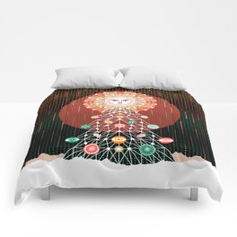 Christmas Tree by ©2018 Balbusso Twins Comforters