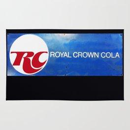R C Royal Crown Cola Rug
