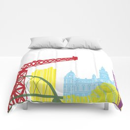 Glasgow skyline pop Comforters