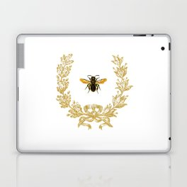 French Bee acorn wreath Laptop & iPad Skin