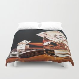 After Hours III Duvet Cover