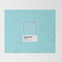 Pantone Series – Summer Swim Throw Blanket