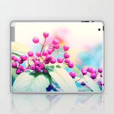 Pink autumn pearls Laptop & iPad Skin