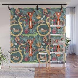 Rain forest animals 003 Wall Mural