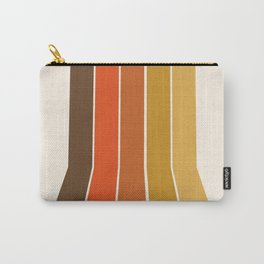 Righteous - 70s style throwback rainbow art 1970s minimalist art Carry-All Pouch